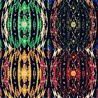 Four PseudoAdinkra 001 by koukouvaya
