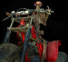 Bones Takes A Midnight Ride by Michael  Gunterman