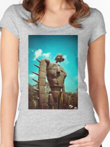 Castle in the Sky's Soldier Women's Fitted Scoop T-Shirt