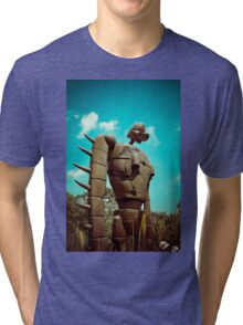 Castle in the Sky's Soldier Tri-blend T-Shirt