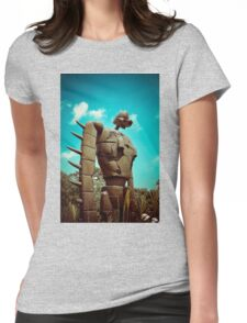 Castle in the Sky's Soldier Womens Fitted T-Shirt
