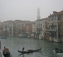 Scenic view of Venice, Italy by sccaldwell