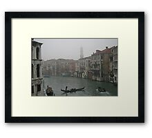 Scenic view of Venice, Italy Framed Print