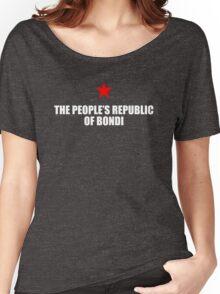 People's Republic of Bondi (White) Women's Relaxed Fit T-Shirt