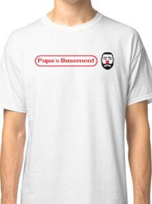 Papa's Basement Entertainment Podcast Classic T-Shirt