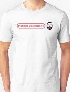 Papa's Basement Entertainment Podcast T-Shirt