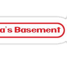 Papa's Basement Entertainment Podcast Sticker