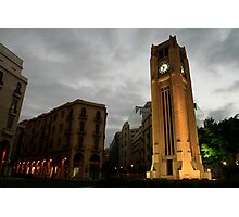 """Downtown Beirut, Lebanon (""""Solidere"""" area) Photographic Print"""