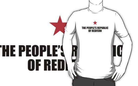 People's Republic of Redfern (Black) by PJ Collins