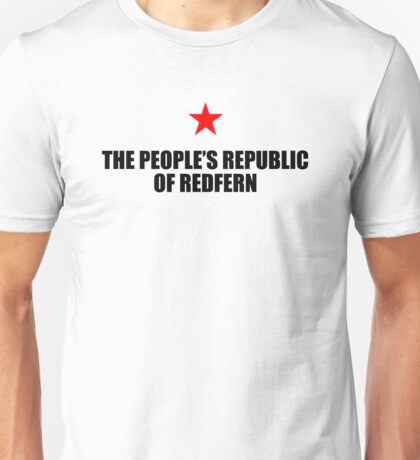 People's Republic of Redfern (Black) Unisex T-Shirt