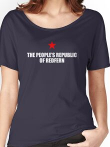 The People's Republic Of Redfern (White) Women's Relaxed Fit T-Shirt