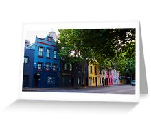 Harris Street, Sydney (HDR) Greeting Card