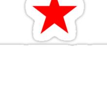 People's Republic of Newtown (White) Sticker