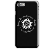 Supernatural Family Business v2.0 iPhone Case/Skin