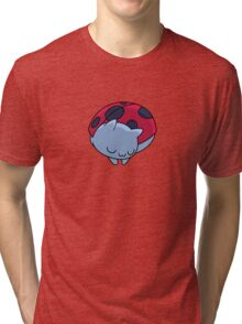 Sleeping Catbug Tri-blend T-Shirt