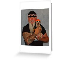 Ride Dogs Ride Greeting Card