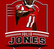 Julio Jones - Atlanta Falcons by twyland