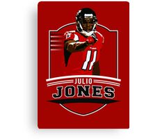 Julio Jones - Atlanta Falcons Canvas Print