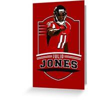 Julio Jones - Atlanta Falcons Greeting Card