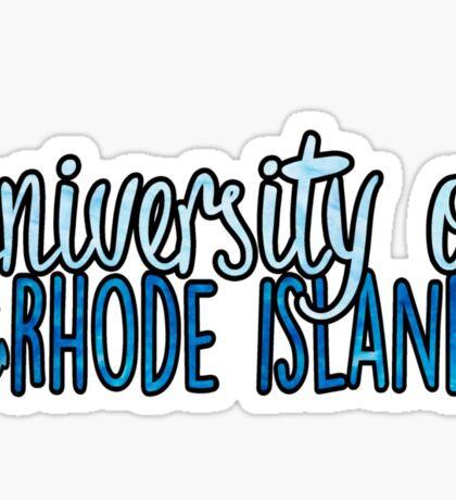 University of Rhode Island - 2tone Sticker