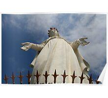 """Our Lady of Lebanon"" (Saydet Libnan), Harissa Poster"