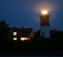 Nauset Lighthouse, Eastham, Massachusetts by sccaldwell