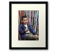 Children of China - 2 Framed Print
