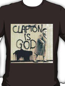 Clapton is God T-Shirt