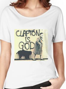 Clapton is God Women's Relaxed Fit T-Shirt
