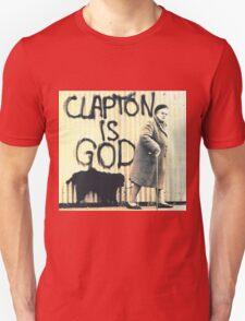 Clapton is God Unisex T-Shirt