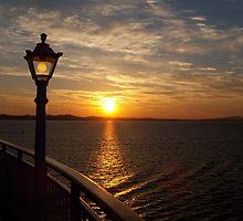 Mediterranean sunset by sccaldwell