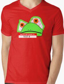 Frog Breeding Gone Wrong Mens V-Neck T-Shirt