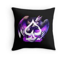 Asexual Pride Dragon Throw Pillow