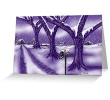 """Winter Whisper"" Greeting Card"
