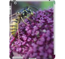 Even a wasp's got to eat iPad Case/Skin