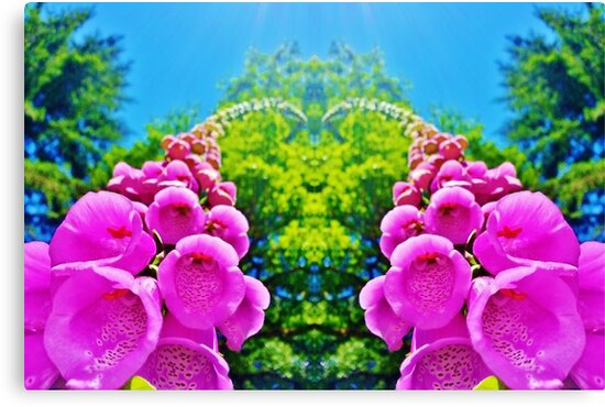 Sky Flowers by MattAtTheWorld