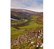 Wharfedale in Winter Photographic Print
