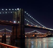 Brooklyn Bridge by joshuapomales