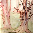Autumn Forest by Rebecca Tripp