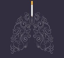 Two Lungs and One Smoking Cigarette Unisex T-Shirt