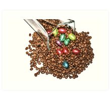 Chocolate for You, Coffee for Me Art Print