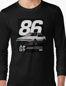 Toyota Corolla Sprinter Trueno AE86 Long Sleeve T-Shirt
