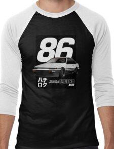 Toyota Corolla Sprinter Trueno AE86 Men's Baseball ¾ T-Shirt