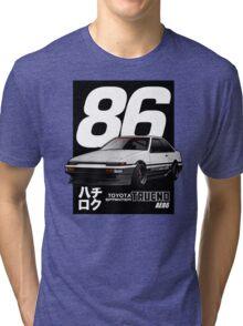 Toyota Corolla Sprinter Trueno AE86 Tri-blend T-Shirt