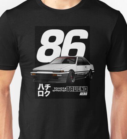 Toyota Corolla Sprinter Trueno AE86 Unisex T-Shirt