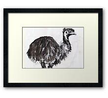 emu#2 Framed Print