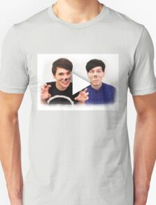Dan & Phil | YouTube Play Button Unisex T-Shirt