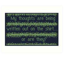 EarthBound -- Lumine Shirt (sections) Art Print