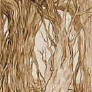 Upside-Down Trees2 by Rebecca Tripp