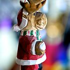 Reindeer Santa by Renee Hubbard Fine Art Photography